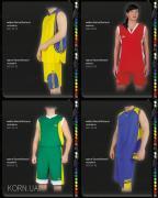 Баскетбольная форма, пошив на заказ формы для баскетбола