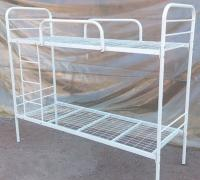 Metal beds, mattresses, cabinets, wardrobes
