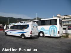 Пассажирские -туристические авто перевозки по Украине и Зарубеж