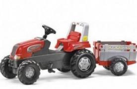Pedal tractor with trailer Rolly Toys 800261