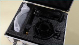 Professional studio USB microphone Maono AU-A04TS + video