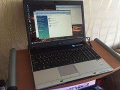 Производительный ноутбук MSI VR610 (2 Ядра, 2Гига,1 час)