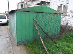 Sell metal garage 3,2x5,4 m. a collapsible, factory, 2 mm a hundred