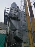 Zernosushilka stationary galvanized firms Riela